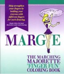 Picture of The Marching Majorette Coloring Book